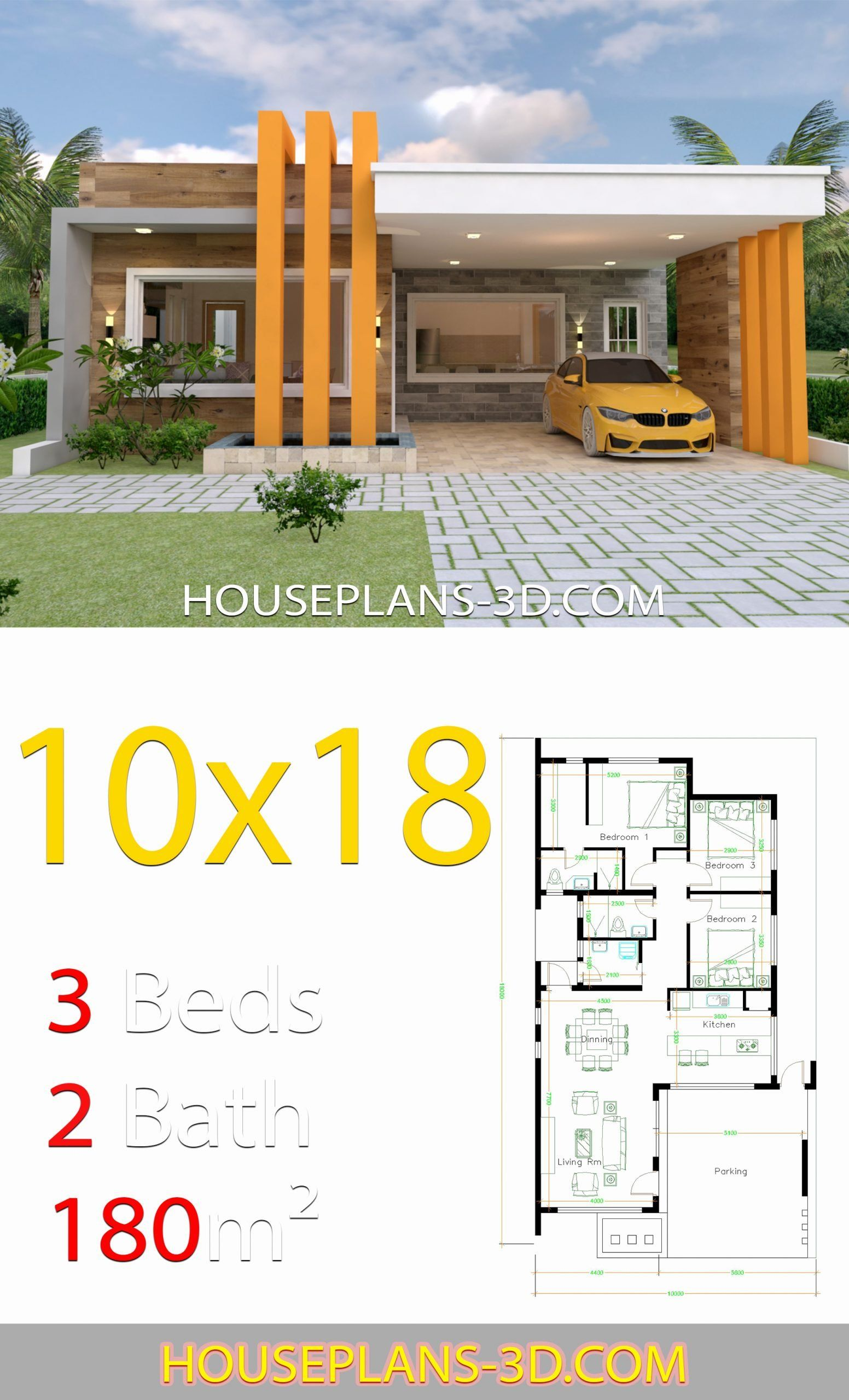 10 X 18 Kitchen Layout Awesome House Design 10 18 With 3 Bedrooms Terrace Roof Putri Best In 2020 House Construction Plan House Plans My House Plans