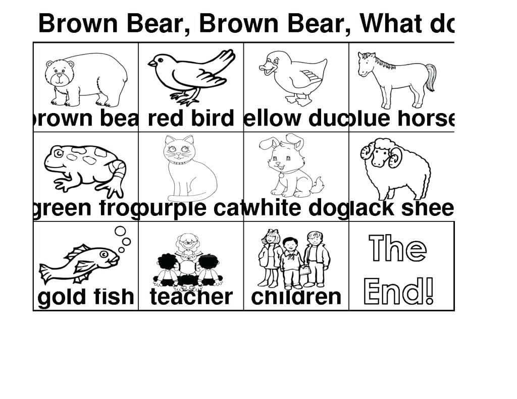 Best Brown Bear Book Coloring Pages Gallery Resume Ideas