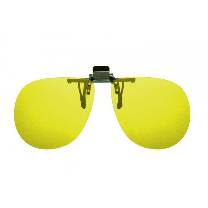 2a3d5fd576 Cocoons Flip-Ups (Aviator) Gunmetal  Yellow Flip Up Sunglasses