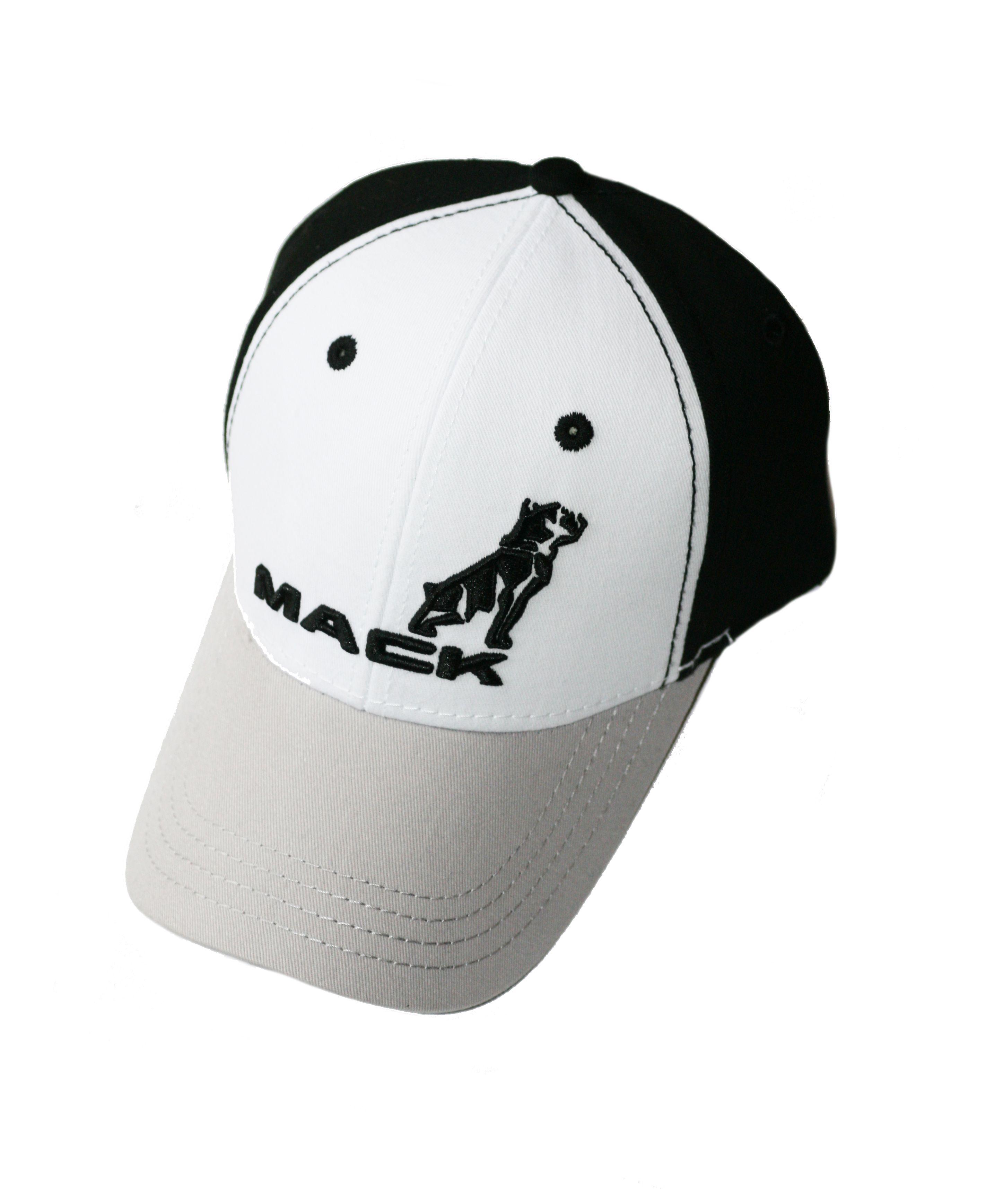 eecad7448987d Mack Truck Merchandise - Mack Truck Hats - Mack Trucks Black   White  Bulldog Logo Cap - Mack Trucks Black   White Bulldog Logo Caps