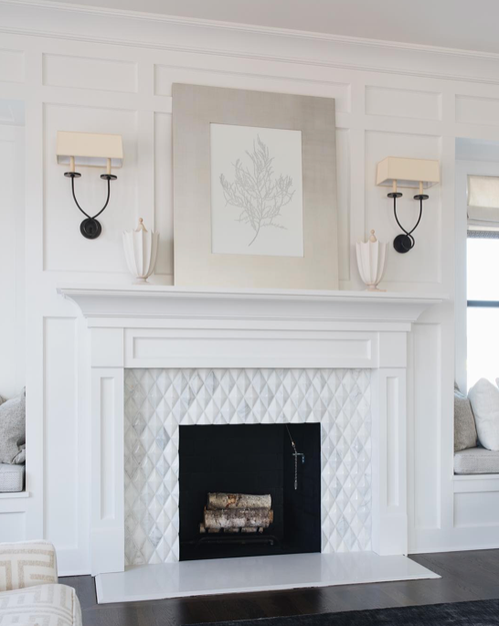 With The Cold Winter Season Quickly Approaching We Re Ready For More Cozy Fireplaces Timbertrailsh White Fireplace Mantels White Fireplace Fireplace Remodel