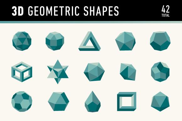 3d Geometric Shapes 3d Geometric Shapes Geometric Shapes Geometric Logo