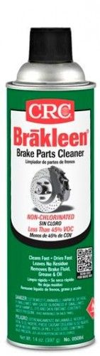 Crc Brakleen Brake Parts Cleaner Non Chlorinated 14 Oz Crc 05084 Case 12 Brake Parts Cleaners Car Mechanic