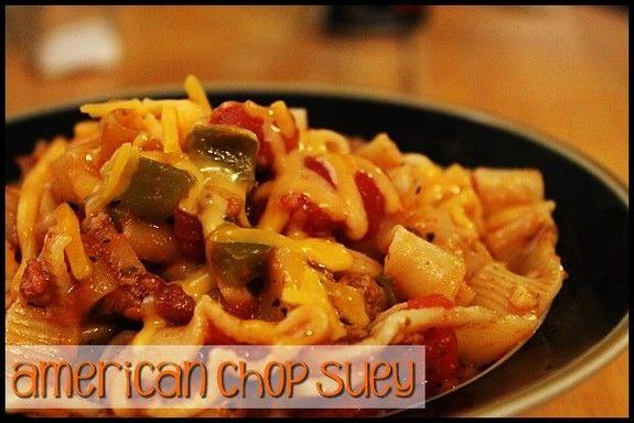 Crock Pot - American Chop Suey http://www.momspantrykitchen.com/american-chop-suey.html