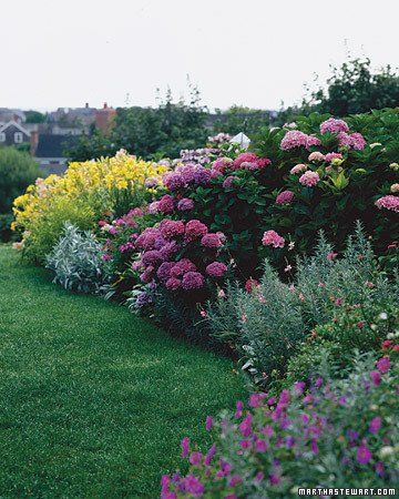 natural neat garden border looks like easy to look