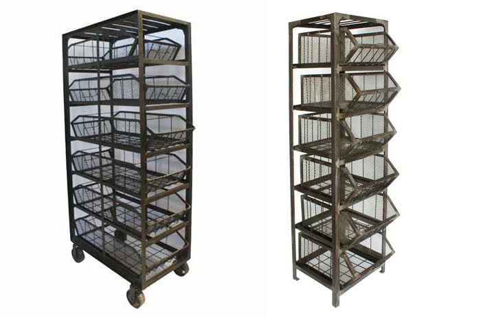 Im genes de los muebles auxiliares para comercio de dise o for Muebles de diseno industrial