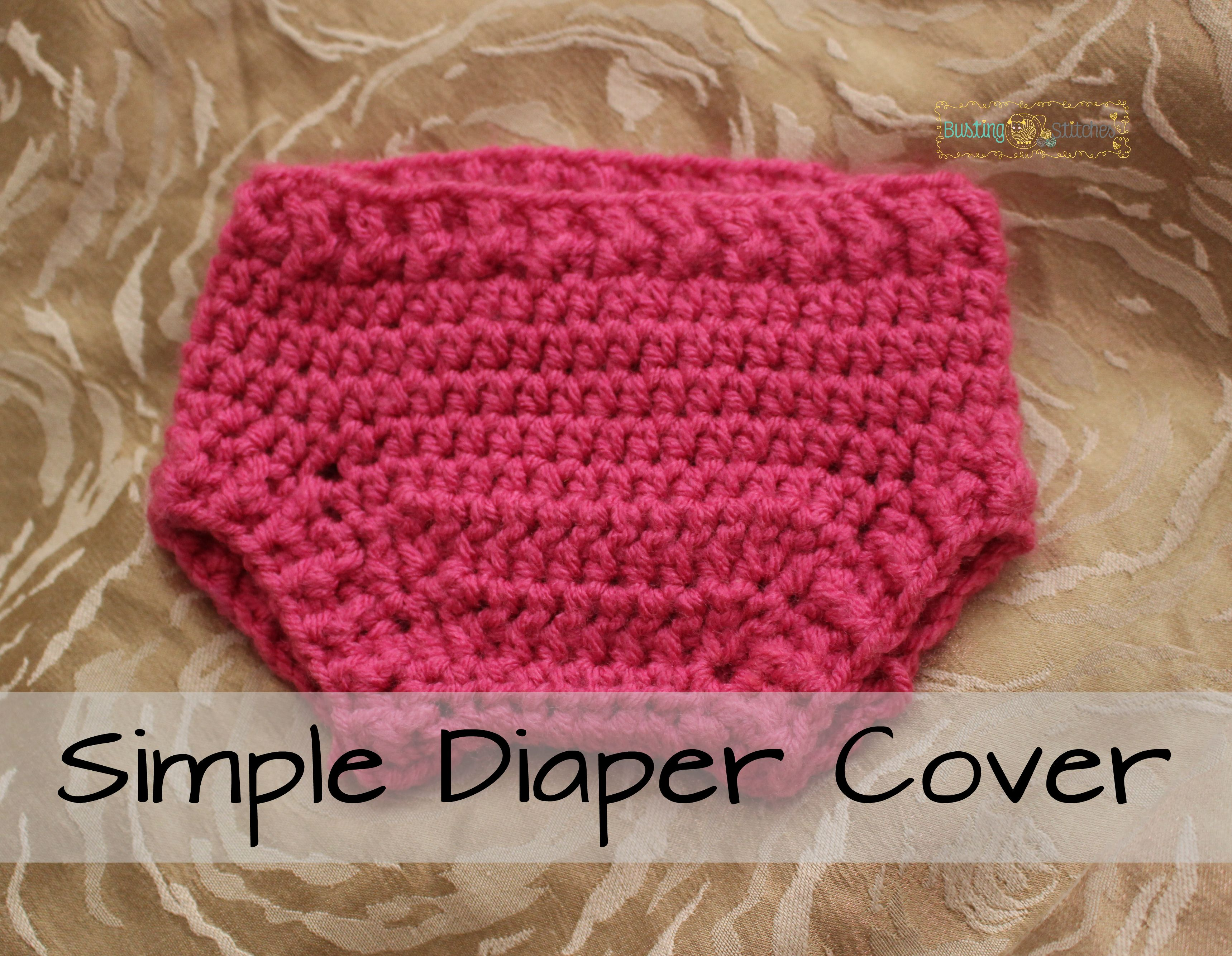 Crochet Patterns For Baby Hats And Diaper Covers : Simple Diaper Cover Free Crochet Pattern Crochet-25 ...