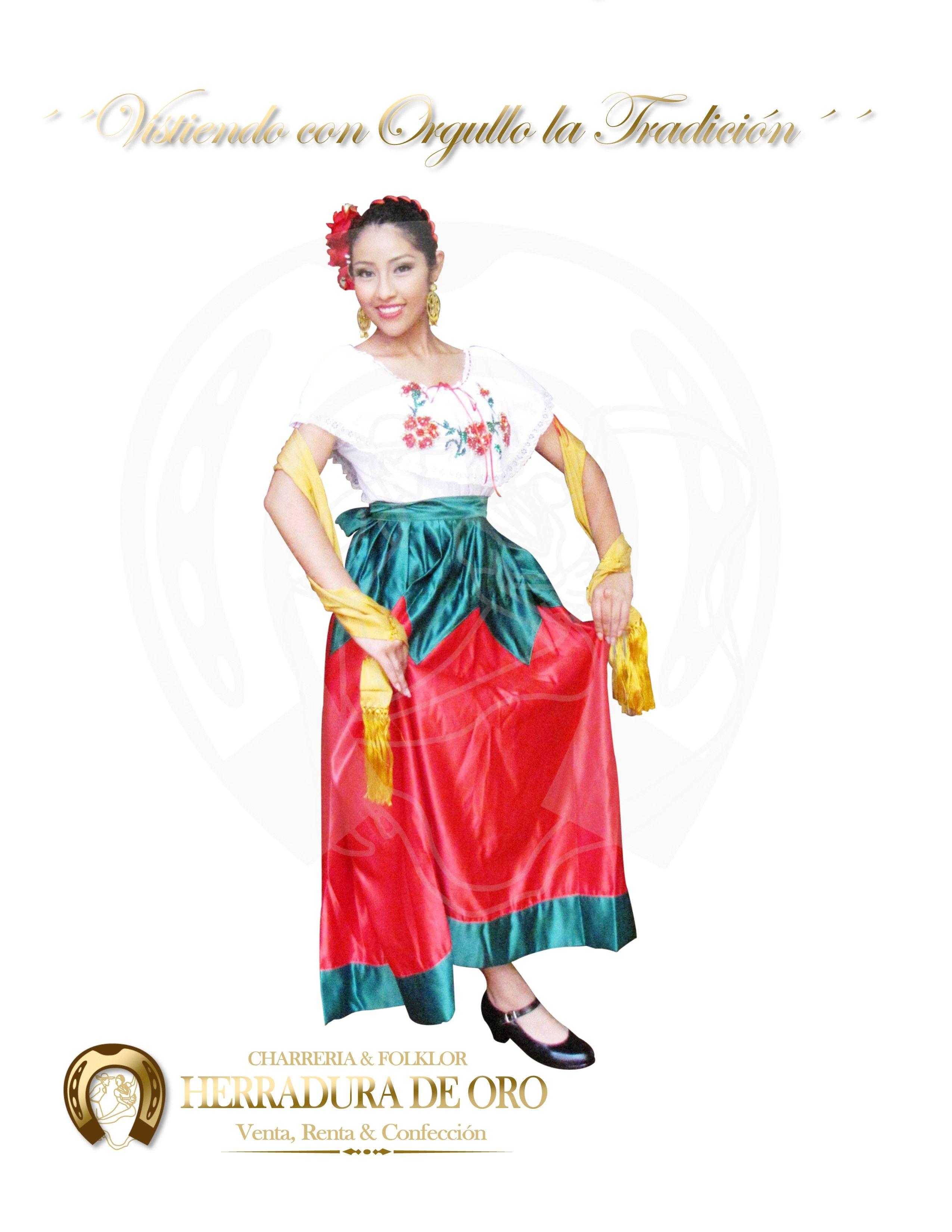 Traje Folklorico Del Estado De Guanajuato 9399 Venta Renta
