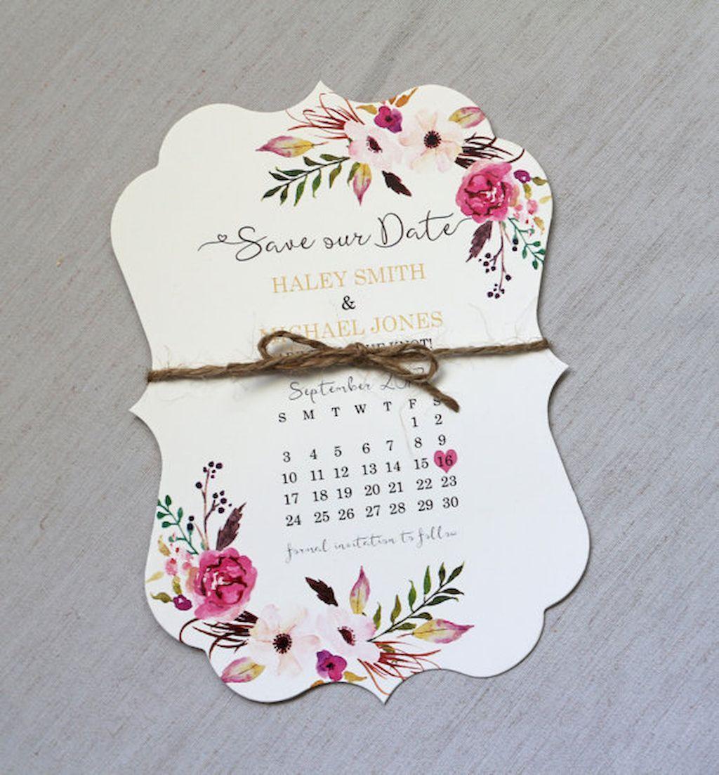 fun modern wedding invitations%0A Nice    Beautiful Floral Wedding Invitation Ideas https   bitecloth com