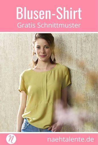 Top oder Blusenshirt - Urlaubskoffer | Damenblusen, Drucken und ...