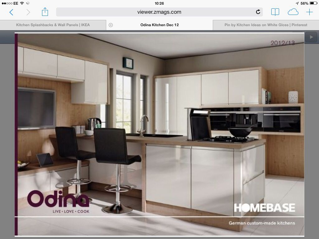 Doors Only Plus Half Height Cabinet Odina Range From Homebase