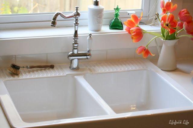 Loving my IKEA DOMSJÖ Sink Sinks, Double bowl sink and Bowl sink
