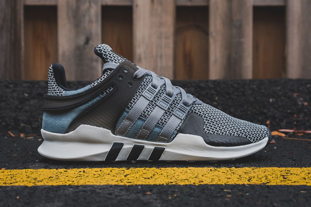 Adidas EQT Support RF PK (Black & White) End