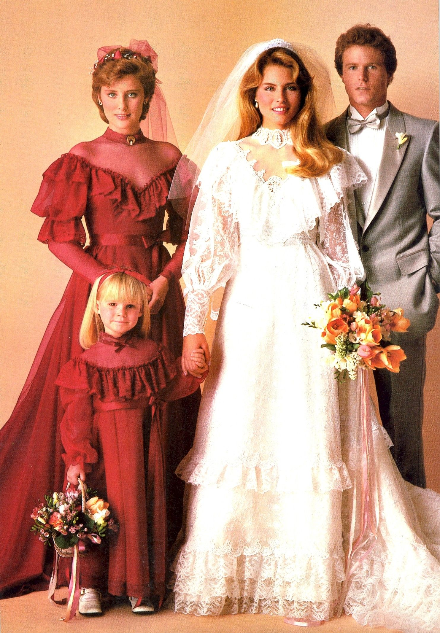 1983 Aug Sept Brides Vintage Weddings Pinterest