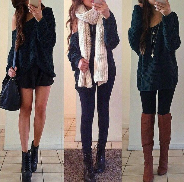 Bag-boots-cozy-cute-Favim.com-2353821.jpg | Cute Winter Clothes | Pinterest | Outfits with ...