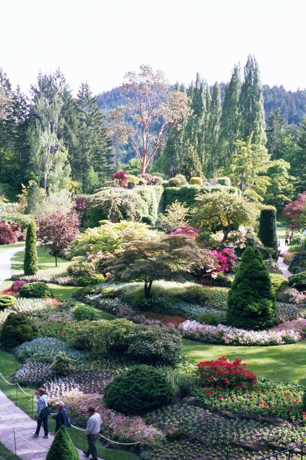Butchart Gardens, British Columbia Dream garden