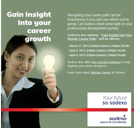 Gain insight into your career growth with Sodexo through our