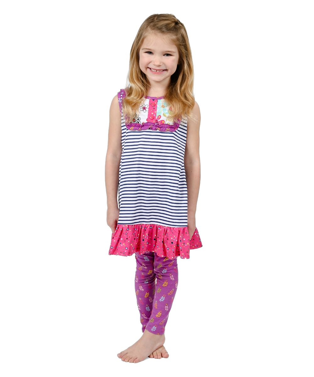 Pink tulip suzy dress u leggings toddler u girls products