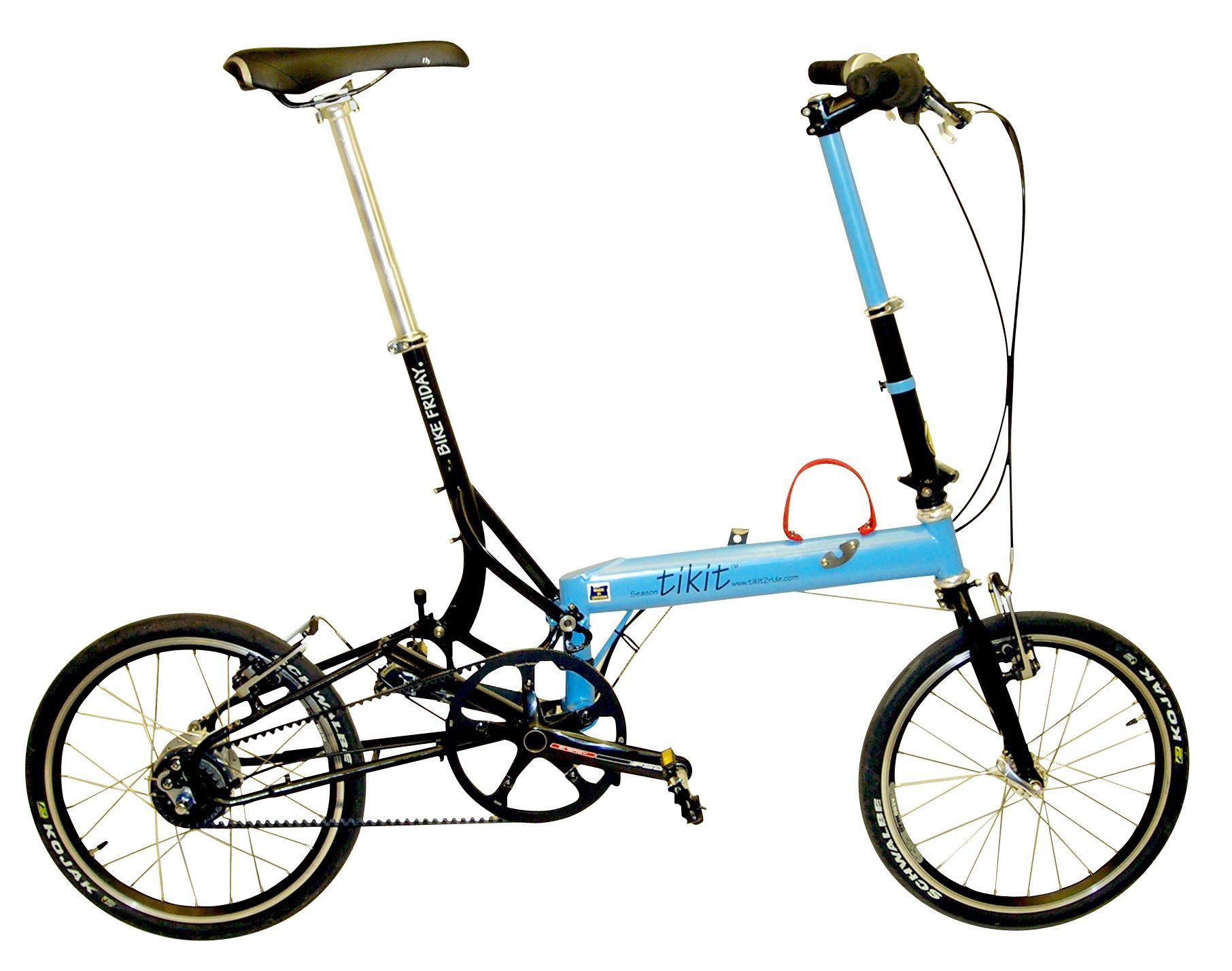 Pakit Folding Bike Bike Friday