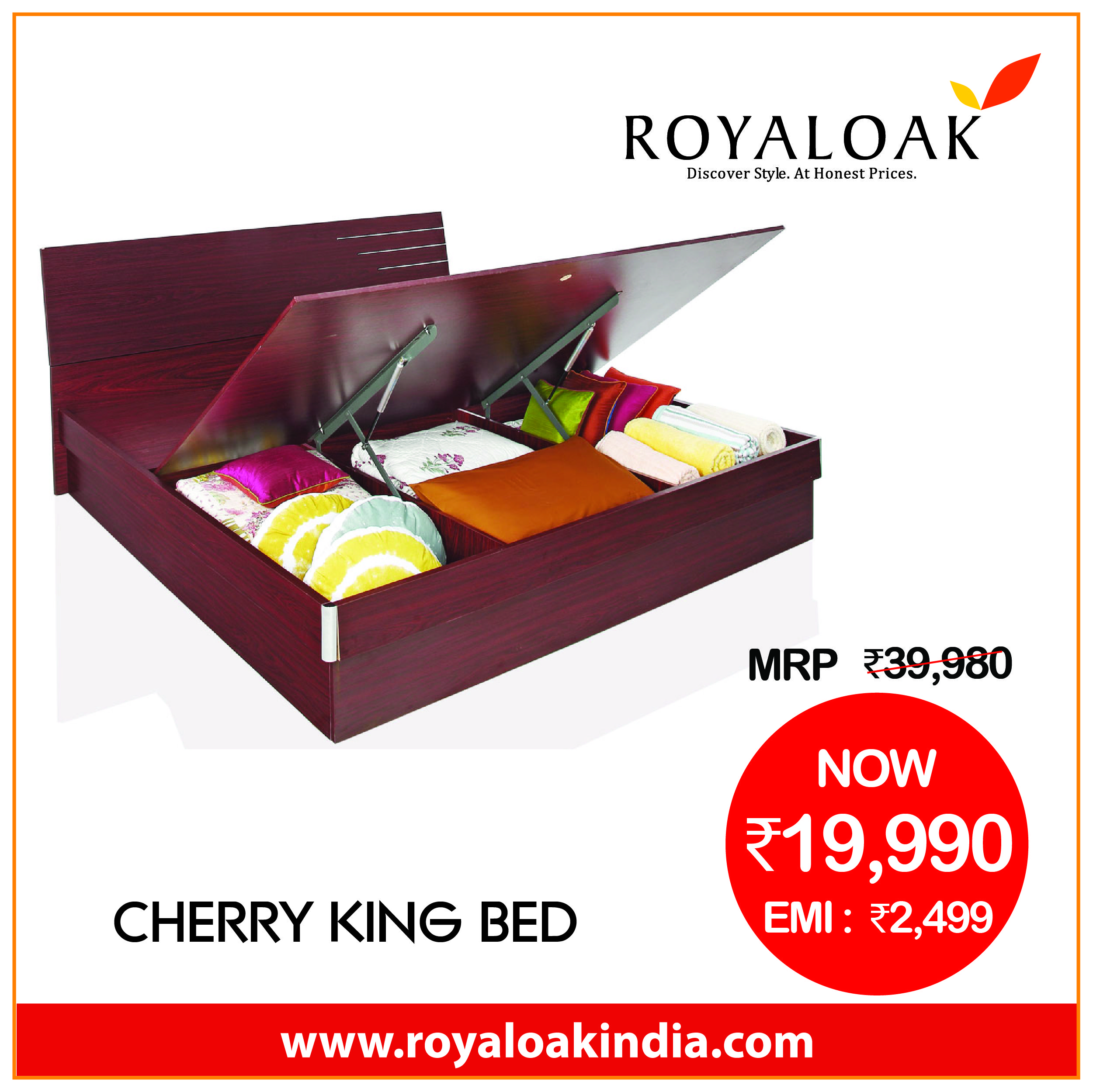 Pin By Royaloak Furniture On Royaloak King Beds Bed Furniture