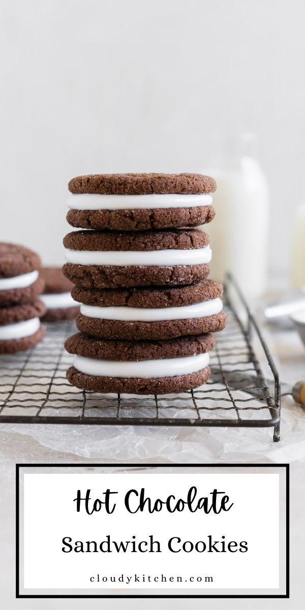 Photo of Chocolate Marshmallow Sandwich Cookies