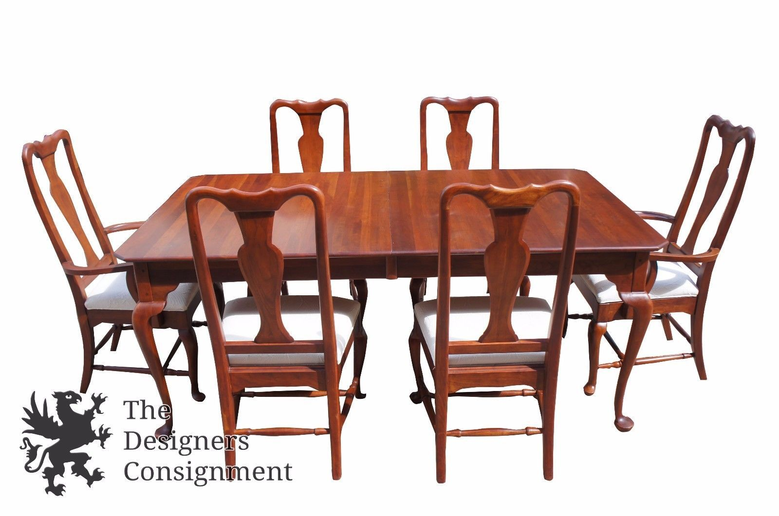 Superieur Bob Timberlake Lexington Cherry Dining Room Set Table U0026 Six Chairs Queen  Anne