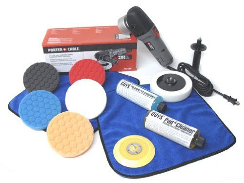Chemical Guys Buf Porter Cable 7424xp Detailing Complete Detailing Kit With Pads Backing Plate And Accesso Chemical Guys Chemical Guys Detailing Road Trip Car