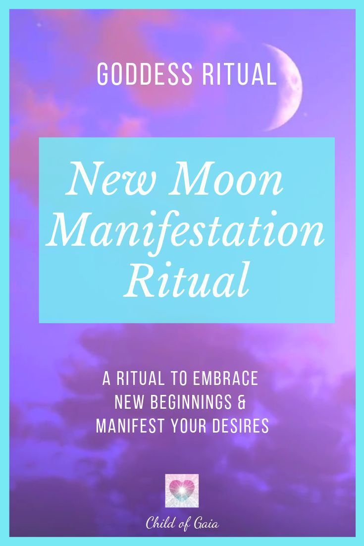 This is a New Moon ritual you can use to let go of the past such as old patterns, relationships and experiences so that you can embrace new beginnings and manifestations in your life.. #newmoonritual