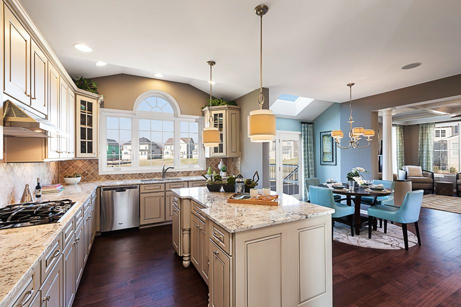 Toll Brothers The Woodstock Palladian Kitchen