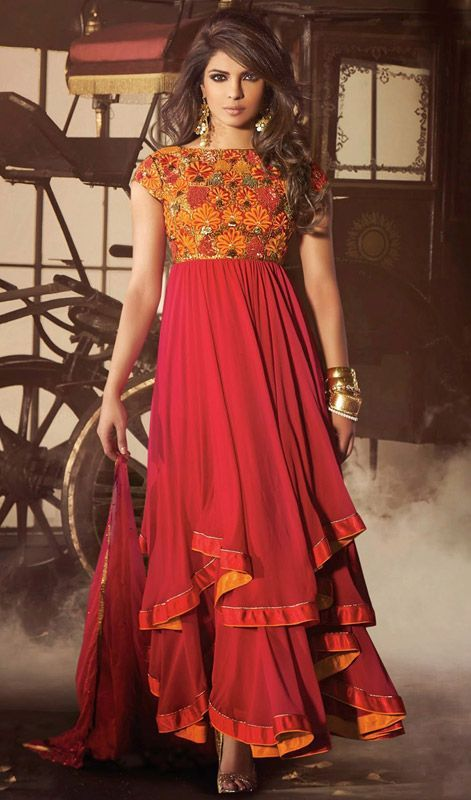 Latest Party Wear Fancy Wedding Frock Designs Collection