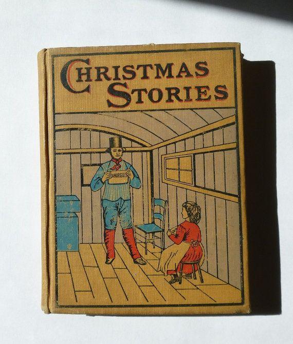 Antique Charles Dickens Christmas Stories by PopcornVintageByTann ...