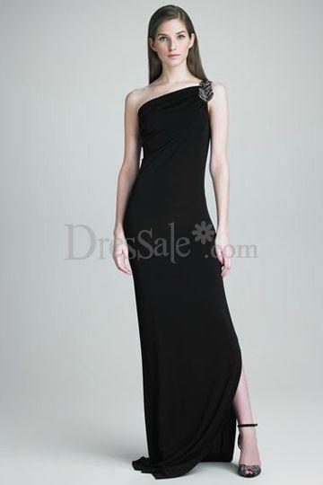 Elegant Black Dresses for a Army Ball