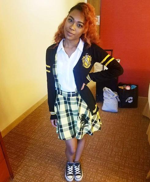 7bde64cde6 School is in session // Harry Potter Hufflepuff Girls Cardigan & School  Skirt