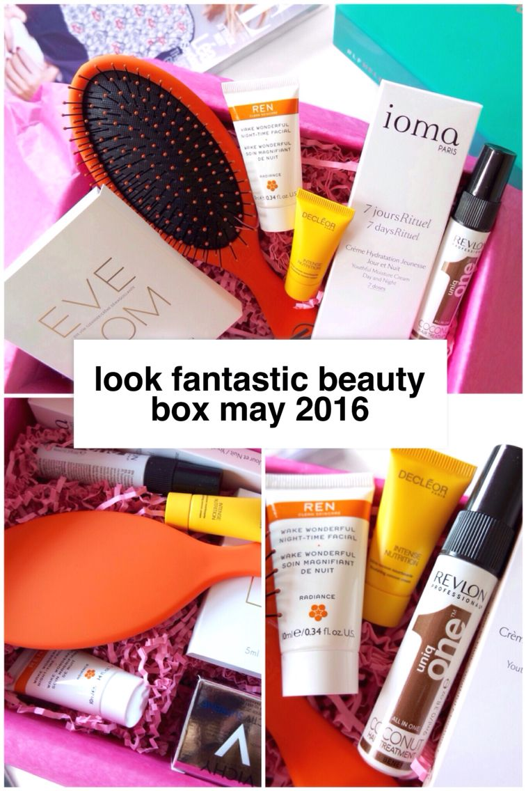 Look Fantastic Beauty Box May 2016 Ami Rose Beauty