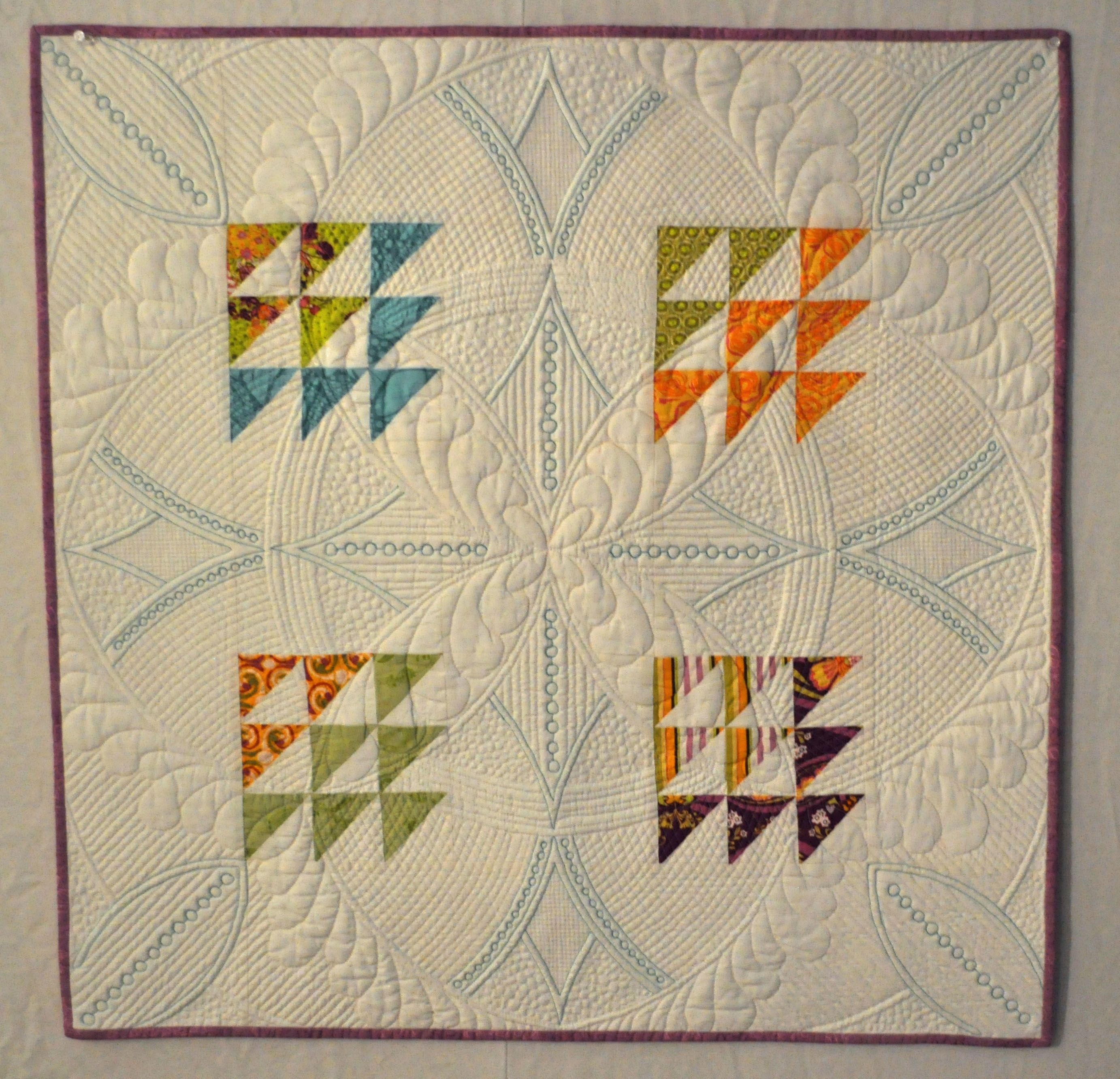 Free motion quilting sample at Our Epoch blog. Includes how-to-use ... : frixion erasable pen for quilting - Adamdwight.com