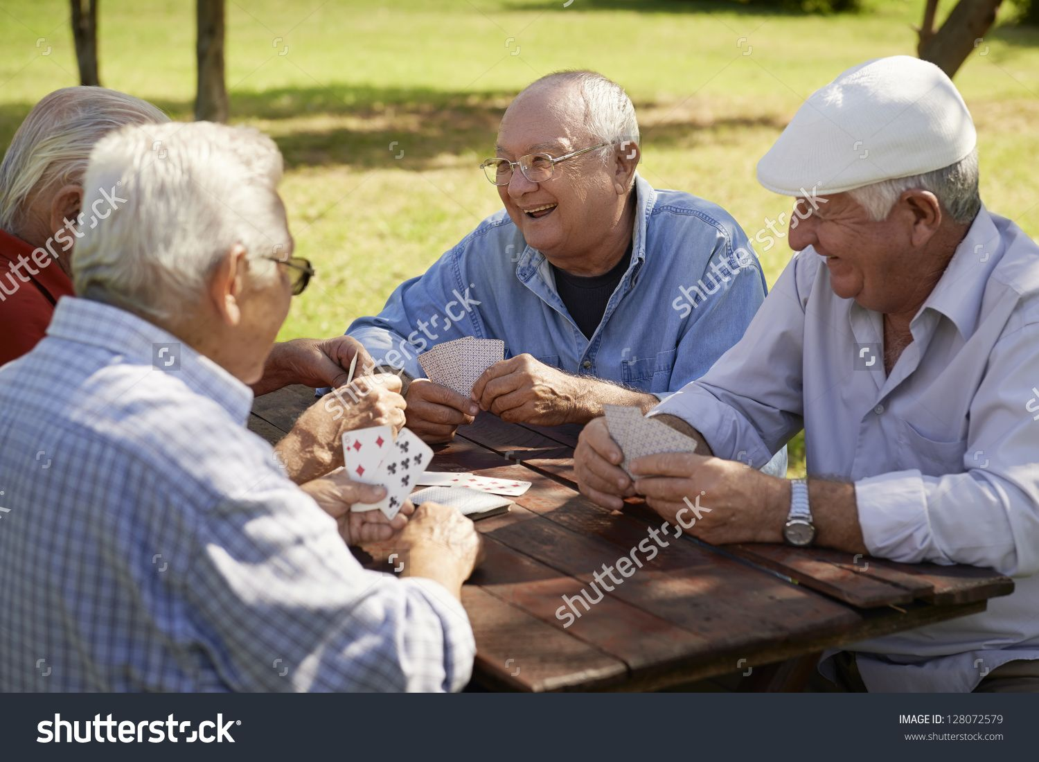 Active Retirement Old People And Seniors Free Time Group