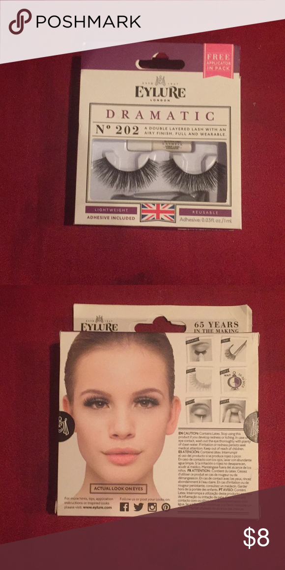 Eylure Brand Eye Lashes In Dramatic Nwt Doing Natural Eyes