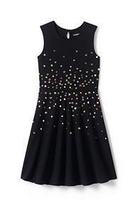 Girls Sparkle Ponte Dress