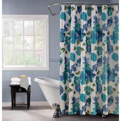 Dainty Home Floral Spring Shower Curtain Floral Shower Curtains