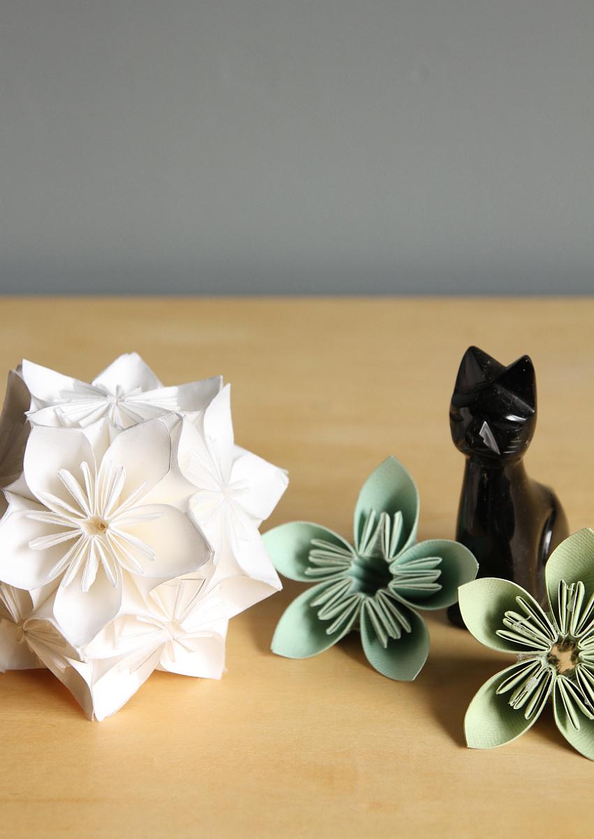 Step-By-Step Kusudama Flower Ball Tutorial