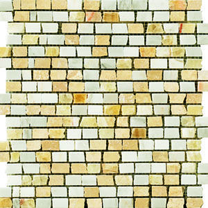 ACCENT TILE - Crossville Modern Mythology mixed stone mosaic, style: Phoenix; color: S010/11212 BMS3