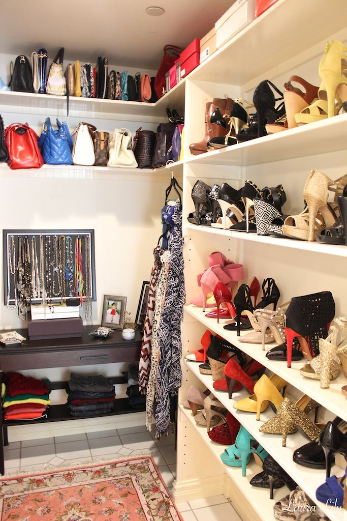 Superb Youtube Closet Organization Part - 13: Closet Tours With Laura Lily, LA Fashion And Beauty Blogger, How To Organize  Your