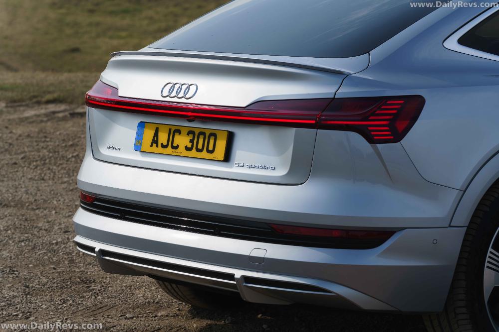 2021 Audi etron Sportback UK Version Dailyrevs in