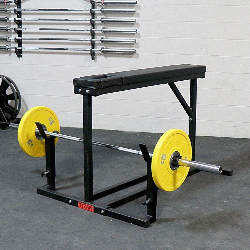 titan prone row machine adjustable