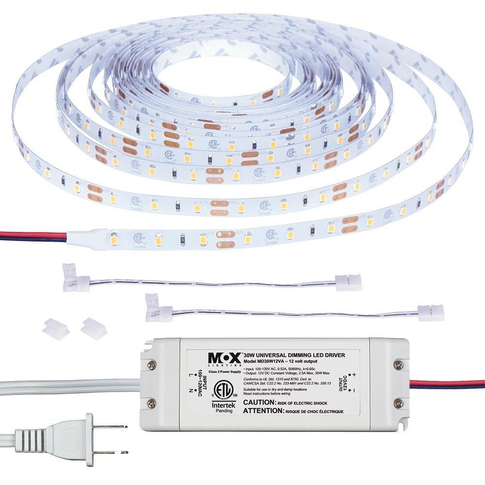 Armacost Lighting Ribbonflex Home 16 Ft Ac Dimmable Led Tape Light Kit 421502 In 2020 Strip Lighting Led Lighting