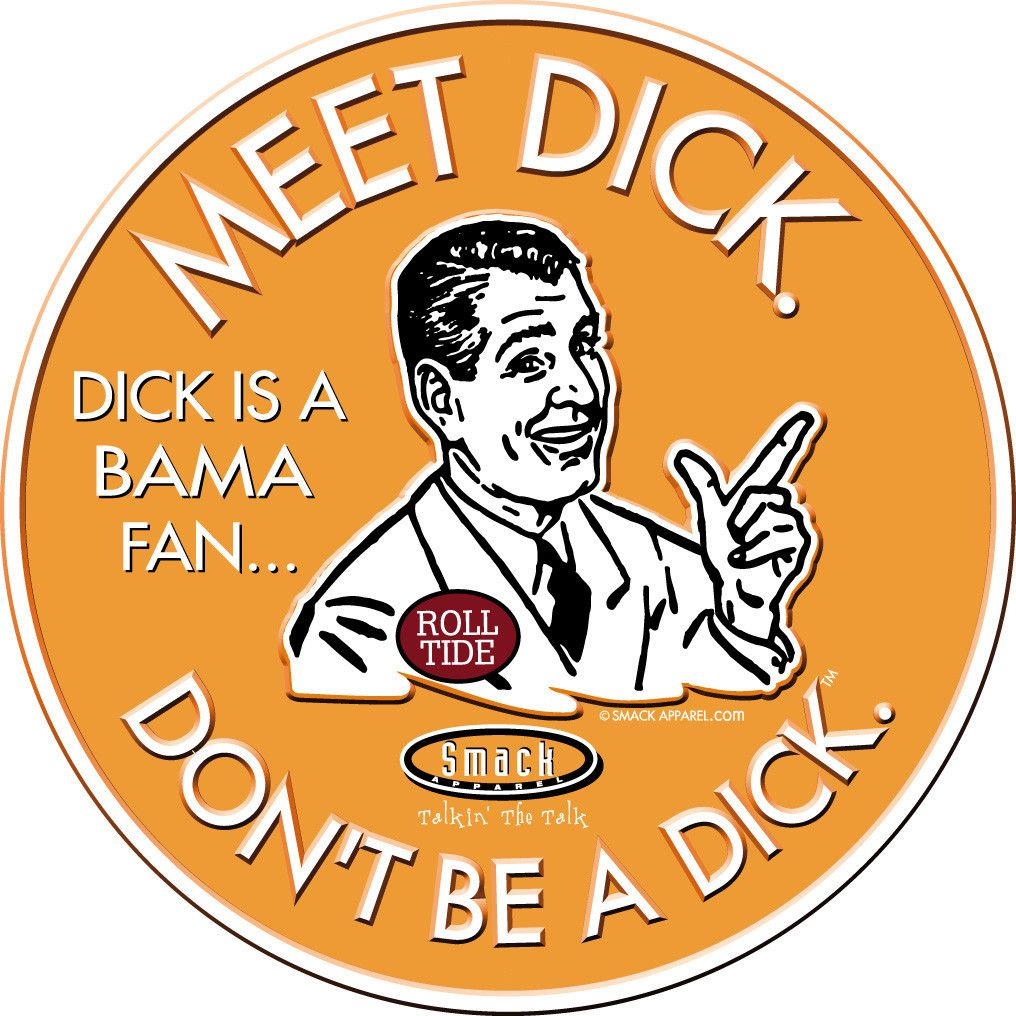 Embossed Metal Man Cave Sign Smack Apparel Florida State Football Fans Dont Be A Dick