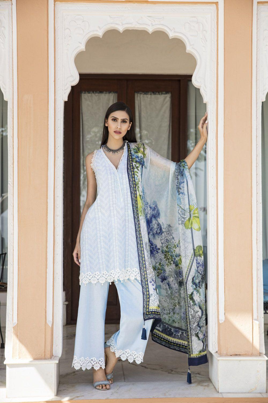Best wedding dresses karachi  Ravishing printed Pakistani unstitched dress at a best price by
