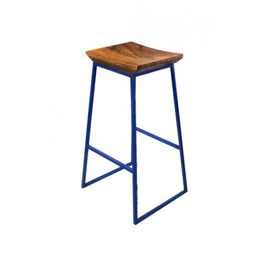 MDM Akola Barstool With Solid Wooden Seat   From MDM Furniture
