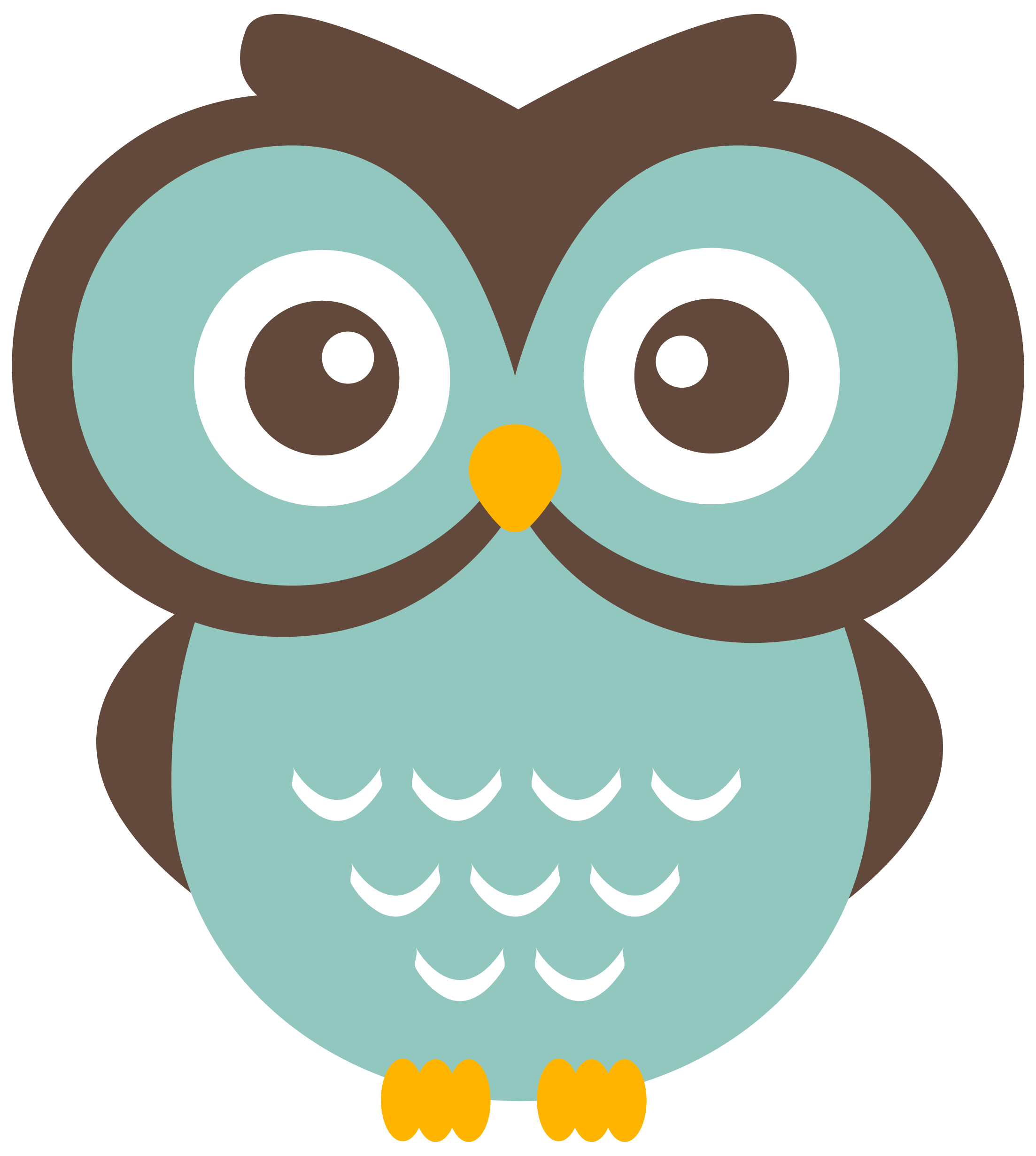 teal owl clipart free download to use graphics flat halftone rh pinterest ca free owl clipart downloads