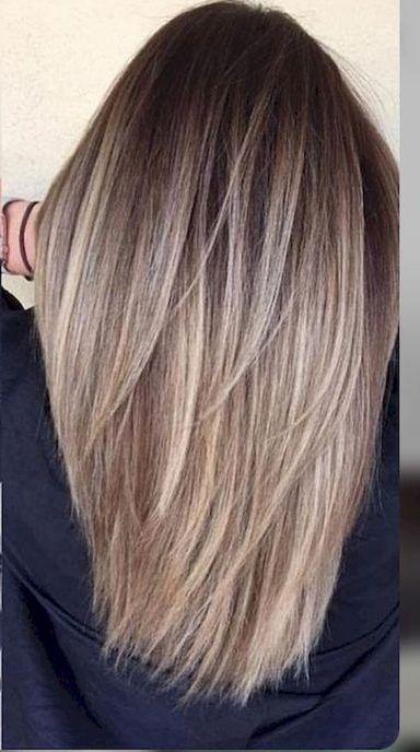 50 Gorgeous Balayage Hair Color Ideas For Blonde Short Straight Hair Hair Styles Hair Style Ide Short Hair Balayage Straight Hairstyles Short Straight Hair